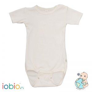 Iobio – Body M. Korte ærmer I økologisk Uld/silke