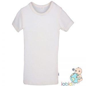 Iobio – T-shirt I økologisk Uld/silke