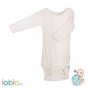 Iobio – Body M. Lange ærmer I økologisk Uld/silke