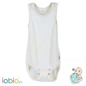Iobio – Body U. ærmer I økologisk Uld/silke