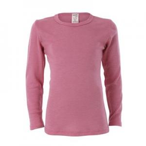 Living Crafts – Bluse I økologisk Uld/silke, Rosa
