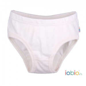 Iobio – Underbukser I økologisk Bomuld, Ecru