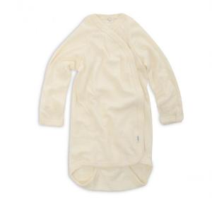 Iobio – Body M. Lange ærmer Og Kimonolukning I økologisk Uld/silke