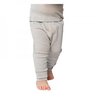 Living Crafts – Leggings I økologisk Uld/silke, Grå