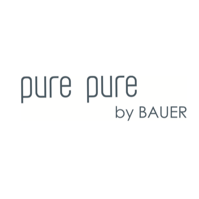 Pure Pure By Bauer Logo.