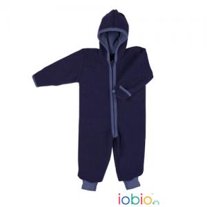 Iobio – Dragt I økologisk Kogt Uld, Navy