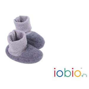 Iobio – Futter I økologisk Uldfleece, Grå