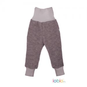Iobio – Bukser I økologisk Kogt Uld, Grå