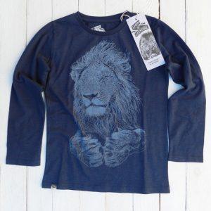Lion Of Leisure – Bluse I økologisk Bomuld, Indigo
