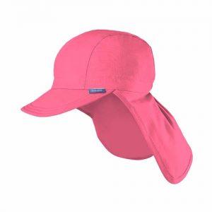 Pure Pure By Bauer – Solhat I økologisk Bomuld, UV Beskyttelse 20 – 50+, Pink