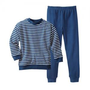 Living Crafts – Pyjamas I økologisk Bomuld, Blå