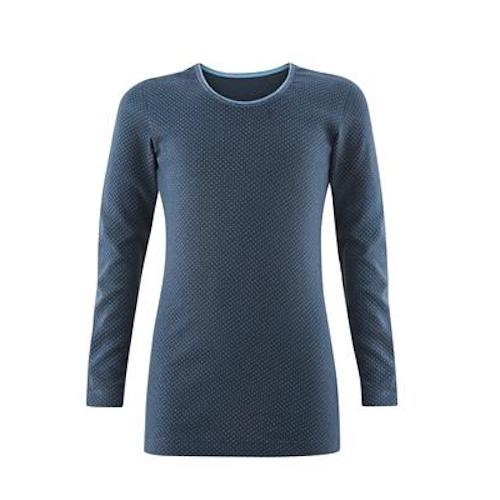Living Crafts – Bluse I økologisk Bomuld, Blå/pige