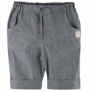Pure Pure By Bauer – Shorts I økologisk Bomuld Og Hør, Grå