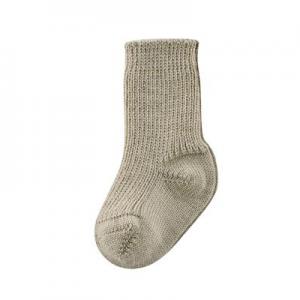 Living Crafts – Sokker I Blødt økologisk Uld, Taupe