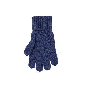Pure Pure By Bauer – Handsker I økologisk Uldmix, Navymeleret