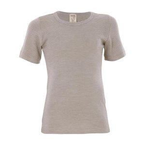 Living Crafts – T-shirt I økologisk Uld/silke, Grå
