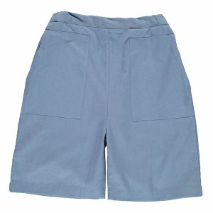 Pierrot La Lune – Shorts I økologisk Bomuld, Esaja Grey Twill