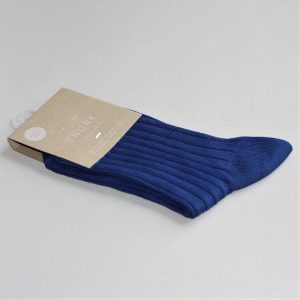 SNORK – Strømper I økologisk Bomuld, Blå