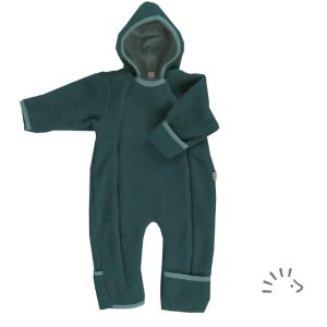 Iobio – Dragt I økologisk Uldfleece, Smaragd