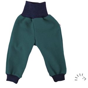 Iobio – Bukser I økologisk Kogt Uld, Smaragd