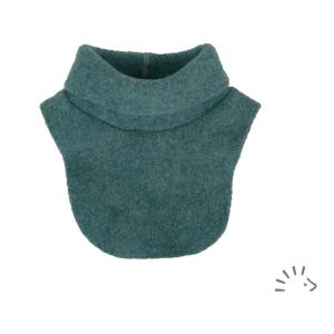 Iobio – Halsedisse I økologisk Uldfleece, Smaragd