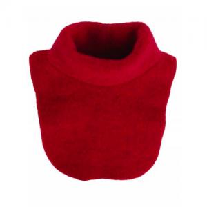 Iobio – Halsedisse I økologisk Uldfleece, Rød