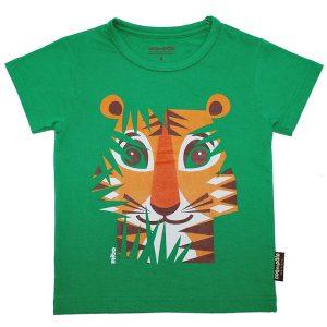 Coq En Pâte – T-shirt I økologisk Bomuld, Tiger