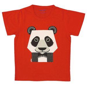 Coq En Pâte – T-shirt I økologisk Bomuld, Panda