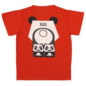 T-shirt I økologisk Bomuld Fra Coq En Pâte.